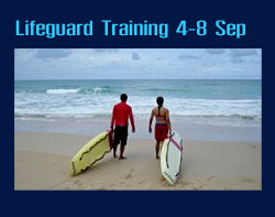 Phuket Provinical Administrative Organisation Lifeguard Training Program.